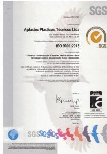 Certificado ISO 9001-2019